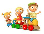 puppet play toy train
