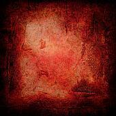 gothic grunge red