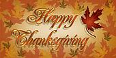 Happy Thanksgiving Text 3D
