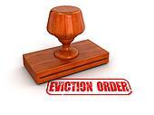 Rubber Stamp eviction order