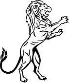 Standing Lion