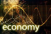 Economy Abstract Technology