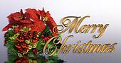 Christmas greeting card 3D Gold tex