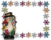 Christmas Background Snowman