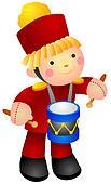 Drummer Doll