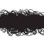 Grunge Scribble Background