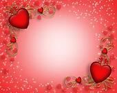 Valentines Day border