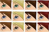 Girl\'s Eye
