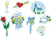 Simple Wedding Icons #2