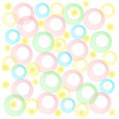 pastel baby circles