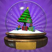 christmas Crystal Sphere