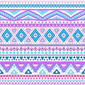 Tribal ethnic seamless stripe pattern.  illustration