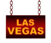 Las Vegas Text Neon Signboard