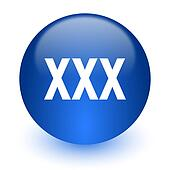 xxx computer icon on white background
