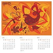 Autumn Season - Concept Calendar