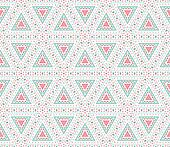 Tribal ethnic seamless pattern.  illustration for your cut