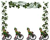 St Pattys Day Card Border