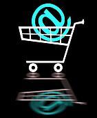 Black trolley