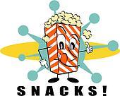 Popcorn / Snacks clip art
