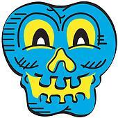 Skull halloween clip art