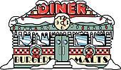 Fifties Diner clip art