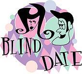 Blind date retro vintage