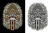 Balinese Demon Mask