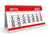 Calendar May 2016.