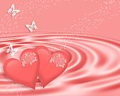 Valentines Day Pink Hearts