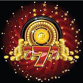 golden roulette wheel