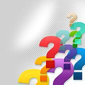 Question Marks Represents Frequently Asked Questions And Answer
