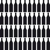Background with bottles COLOR silhouette