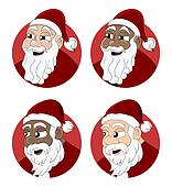 Santa Claus cartoon collection