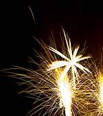 Explosive fireworks