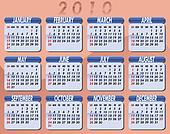 2010 Calendar by Willierossin