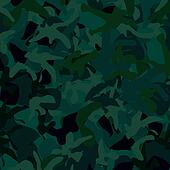 Blue Green Camouflage