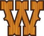 Western W letter