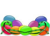 Easter Jelly Beans border