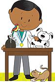 Black Vet and Pets