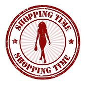 Shopping time stamp