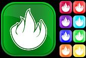 Icon of fire