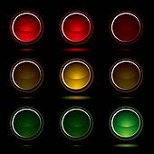 traffic light buttons