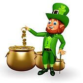 Leprechaun for patricks day
