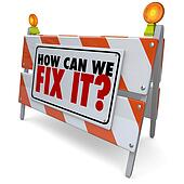 How Can We Fix It Barrier Barricade Sign Repair Improve Problem