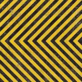 Construction Hazard Stripes