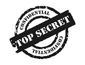 Stamp \'Top Secret\'