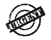 Stamp \'Urgent\'