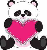 Panda Heart