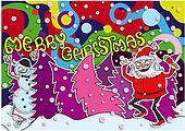 Merry Christmas Crazy Card