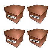 cardborad box notice